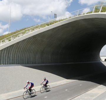Super Cor stalen tunnelconstructie